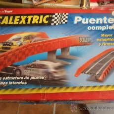 Scalextric: PUENTE SCALEXTRIC COMPLETO. Lote 38961175