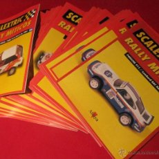 Scalextric: LOTE SCALEXTRIC RALLY MITICOS 48 FASCICULOS ALTAYA. Lote 39714737