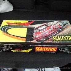 Scalextric: CURVA SUPER RACING EXIN EN CAJA. Lote 39735261