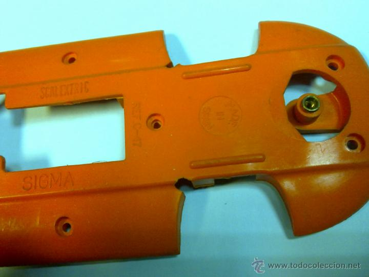 Scalextric: chasis sigma naranja ref. c 17 scalextric exin - Foto 2 - 39744488