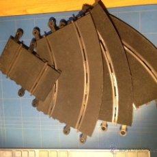 Scalextric: LOTE 3 CURVAS STANDARD SCALEXTRIC MAS TRAMO CORTO. Lote 39907954