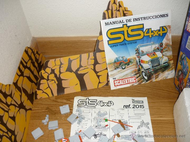 Scalextric: CIRCUITO DE SCALEXTRIC STS 4X4 2015 TODOTERRENO MUY DIFICIL , EXIN , 1985 COMPLETO - Foto 3 - 40168358