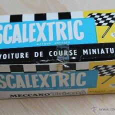 Scalextric: SCALEXTRIC CAJA VACIA ASTON MARTIN AVEC ECLAIRAGE CON INTERIOR MADE IN FRANCE. Lote 40305617