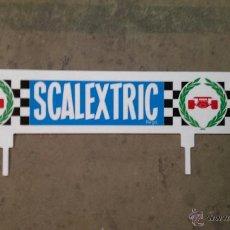 Scalextric: CARTEL PLASTICO SCALEXTRIC. Lote 40589445