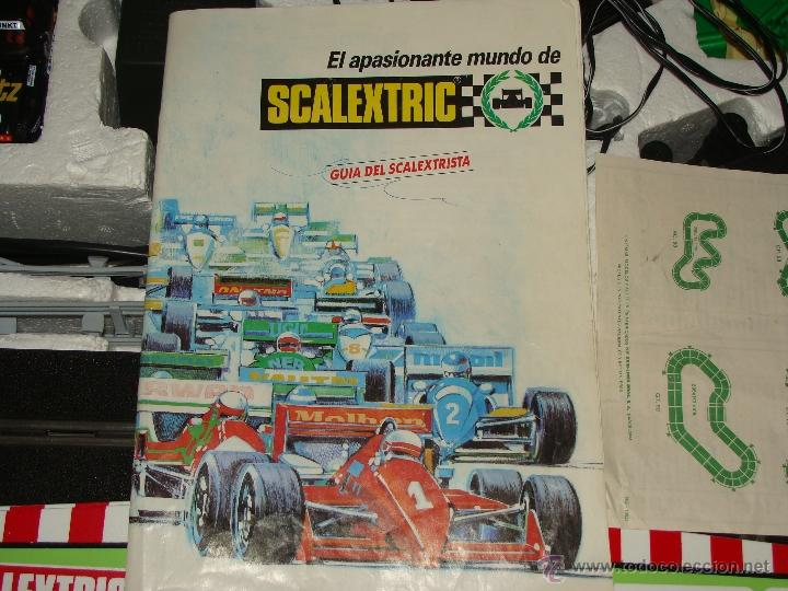 Scalextric: CAJA SCALEXTRIC DE EXIN GT.70 GT 70. CON COCHES, TRANSFORMADOR, PISTAS, MANDOS, CATÁLOGO - Foto 6 - 40633372