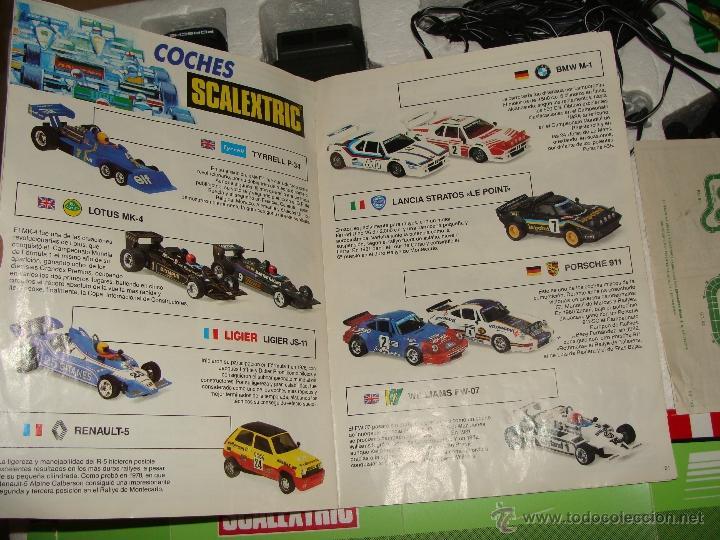 Scalextric: CAJA SCALEXTRIC DE EXIN GT.70 GT 70. CON COCHES, TRANSFORMADOR, PISTAS, MANDOS, CATÁLOGO - Foto 7 - 40633372