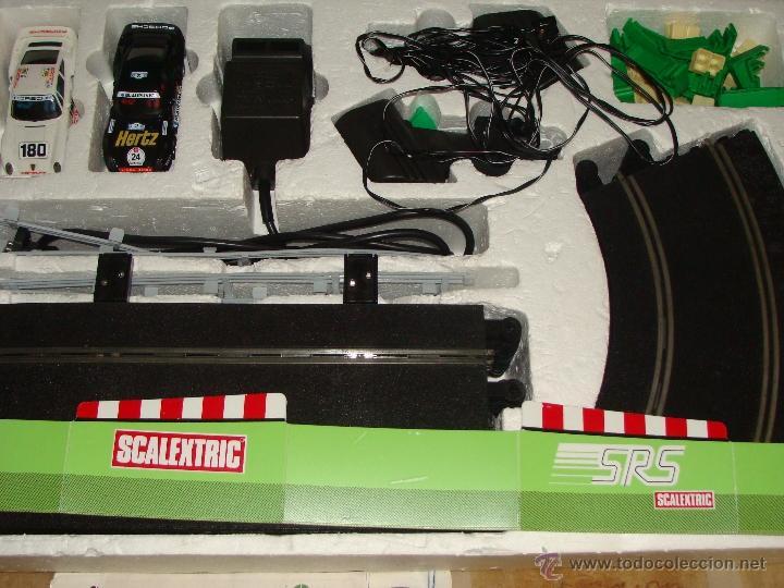 Scalextric: CAJA SCALEXTRIC DE EXIN GT.70 GT 70. CON COCHES, TRANSFORMADOR, PISTAS, MANDOS, CATÁLOGO - Foto 9 - 40633372