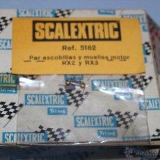 Scalextric: SCALEXTRIC: BOLSA PAR ESCOBILLAS Y MUELLES MOTOR RX2 Y RX3. REF. 5162. A ESTRENAR.. Lote 40704245