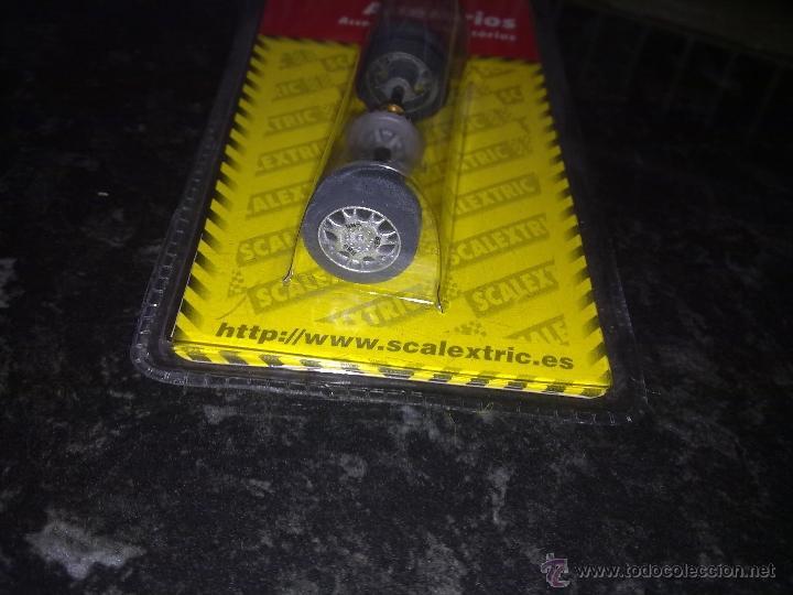 Scalextric: scalextric tecnitoys ref. 8836 accesorios tren de ruedas posterior audi tt r tipo 6 - Foto 2 - 40792867