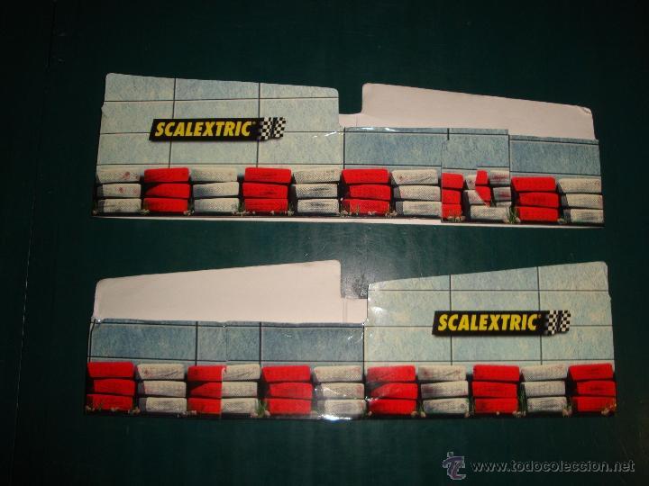 PUENTE DE CARTON ORIGINAL DE SCALEXTRIC (Juguetes - Slot Cars - Scalextric Pistas y Accesorios)
