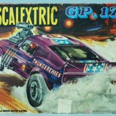 Scalextric: TAPA CAJA CARTÓN CIRCUITO SCALEXTRIC GP 17. Lote 41024147