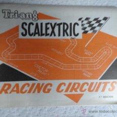Scalextric: FOLLETO CATALOGO TRI-ANG RACING CIRCUITS SCALEXTRIC CLUB EXIN 7ªEDICION. Lote 41386472