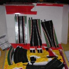 Scalextric: CIRCUITO LE MANS - MANDOS SIN CABLES - 6,45 MTOS - PUENTE Y SUPER TRANSFORMADOR COMO NUEVO . Lote 53982857