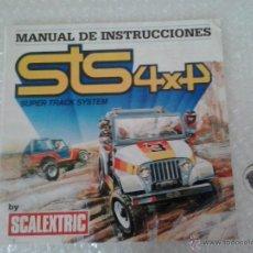 Scalextric: -MANUAL DE INSTRUCCIONES -STS 4X4 SUPER TRAC SYSTEM. Lote 41447744