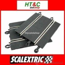 Scalextric: 2 MEDIAS RECTAS DE COMPATIBILIDAD CIRCUITO ANTIGUO A DIGITAL ORIGINAL SCALEXTRIC. Lote 85012864