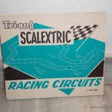 Scalextric: INSTRUCCIONES SCALEXTRIC RACING CIRCUITS - 5 EDICION - CIRCUITOS ( 1968 ). Lote 41670314