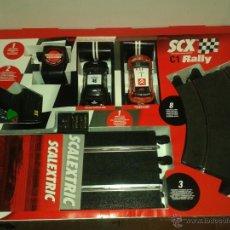 Scalextric: CIRCUITO SCX TECHNITOYS C1 RALLY. Lote 42569145