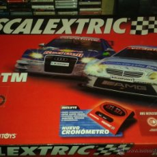Scalextric: CIRCUITO SCALEXTRIC TECHNITOYS. C3 DTM. Lote 42569351