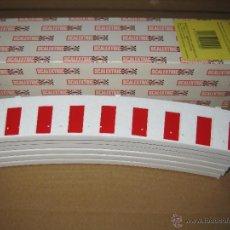 Scalextric: CAJA 6 TRAMOS BORDE INTERIOR PARA CURVA SUPER-EXTERIOR DE SCALEXTRIC. Lote 42758940