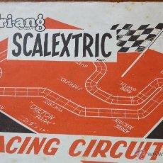 Scalextric: SCALEXTRIC RACING CIRCUITS . 4 EDICIÓN . ROTO INCOMPLETO . LE MANS . SEBRING. Lote 43390919