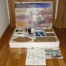 Scalextric: STS SCALEXTRIC 2020 4X4. COMPLETO. CON DOS COCHES JEEP. EXIN. PEGATINAS Y CALCAS SIN USAR. Lote 54466137