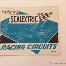 Scalextric: FOLLETO TRIANG EXIN RACING CIRCUITS. Lote 43536756