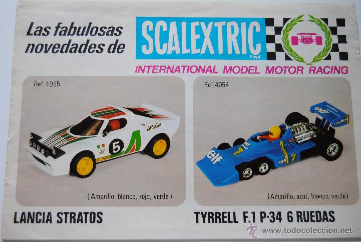 Scalextric: CATALOGO SCALEXTRIC DE COCHES - Foto 2 - 43830579