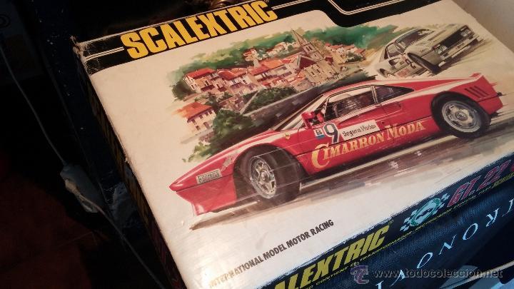 Scalextric: Lote Scaletrix Exin, compuesto, por caja completa, 1 transformador de más, papeles originales y..... - Foto 19 - 49710050