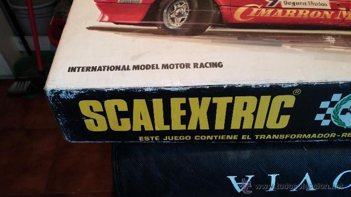 Scalextric: Lote Scaletrix Exin, compuesto, por caja completa, 1 transformador de más, papeles originales y..... - Foto 20 - 49710050