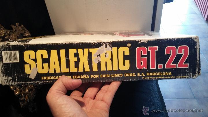 Scalextric: Lote Scaletrix Exin, compuesto, por caja completa, 1 transformador de más, papeles originales y..... - Foto 23 - 49710050