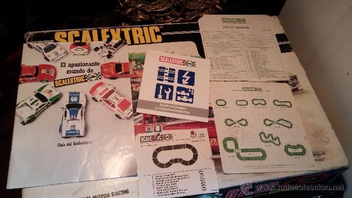 Scalextric: Lote Scaletrix Exin, compuesto, por caja completa, 1 transformador de más, papeles originales y..... - Foto 24 - 49710050