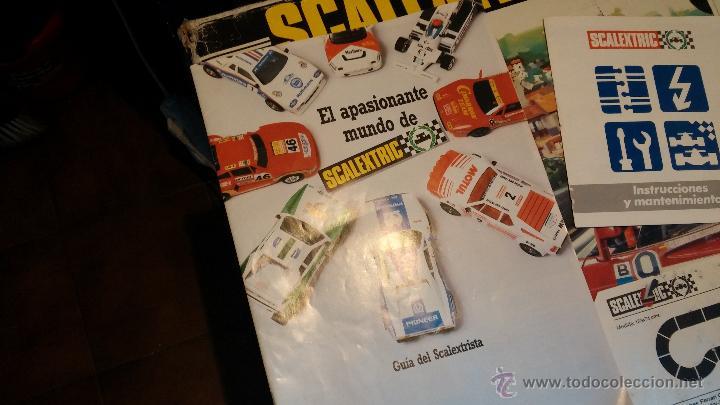 Scalextric: Lote Scaletrix Exin, compuesto, por caja completa, 1 transformador de más, papeles originales y..... - Foto 25 - 49710050