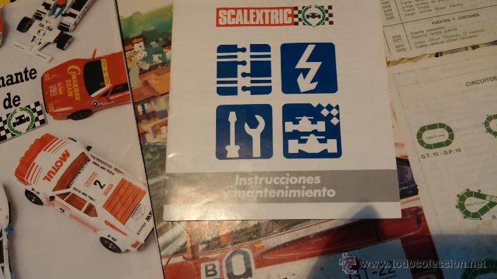 Scalextric: Lote Scaletrix Exin, compuesto, por caja completa, 1 transformador de más, papeles originales y..... - Foto 26 - 49710050