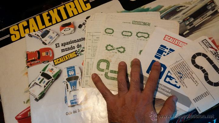 Scalextric: Lote Scaletrix Exin, compuesto, por caja completa, 1 transformador de más, papeles originales y..... - Foto 30 - 49710050