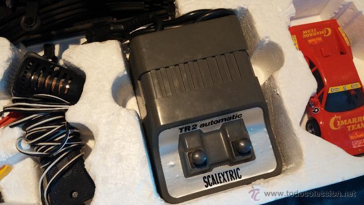 Scalextric: Lote Scaletrix Exin, compuesto, por caja completa, 1 transformador de más, papeles originales y..... - Foto 34 - 49710050