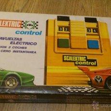 Scalextric: CUENTA VUELTAS ESCALEXTRIC EN PERFECTO ESTADO CON CAJA ORIGINAL. Lote 44184937