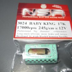 Scalextric: 3024 - MOTOR PROFESIONAL BABY KING 17K DE NSR. Lote 115754630