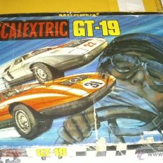 Scalextric: SCALEXTRIC EXIN GT-19 COMPLETO Y CON CAJA ( 2 COCHES MERCEDES WANKELL C-111 ). Lote 44774728