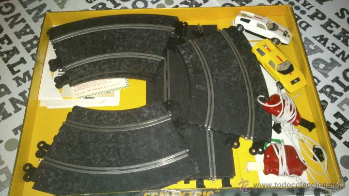 Scalextric: SCALEXTRIC EXIN GT-19 COMPLETO Y CON CAJA ( 2 COCHES MERCEDES WANKELL C-111 ) - Foto 3 - 44774728