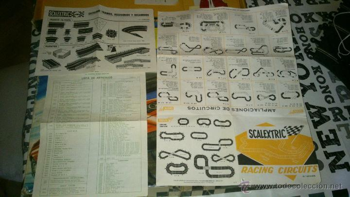 Scalextric: SCALEXTRIC EXIN GT-19 COMPLETO Y CON CAJA ( 2 COCHES MERCEDES WANKELL C-111 ) - Foto 6 - 44774728