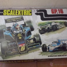 Scalextric: SCALEXTRIC GP 16. Lote 45264962
