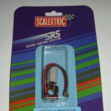 Scalextric: SCALEXTRIC SCX. SRS EXIN. CIRCUITO ALIMENTACIÓN. REF 7102. EN BLISTER.. Lote 45722359