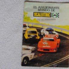 Scalextric: REVISTA EL APASIONANTE MUNDO DE SCALEXTRIC. Lote 45672798