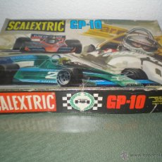 Scalextric: SCALEXTRIC GP-10 CON CATALOGOS Y BRABHAM GT46. Lote 45848992