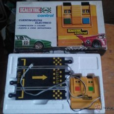 Scalextric: CUENTA VUELTAS ELECTRICO SCALEXTRIC EXIN . Lote 46174432