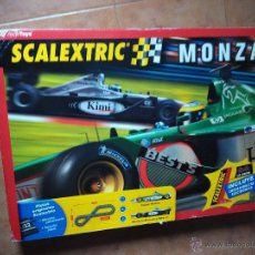 Scalextric: SCALEXTRIC MONZA CON CUENTA VUELTAS ELECTRONICO. Lote 47762078