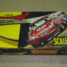 Scalextric: SCALEXTRIC CURVA SUPER RACING NUEVA. Lote 49174561