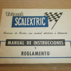 Scalextric: SCALEXTRIC EXIN MANUAL . Lote 49876537