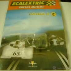 Scalextric: FASCICULO Nº 34 DUELOS MITICOS CHAPARRAL ALTAYA. Lote 50184033