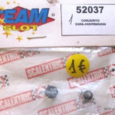 Scalextric: TEAM SLOT: CONJUNTO GUIA SUSPENSION. REF: 52037. NUEVO. Lote 50257876